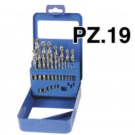 PUNTE METAL BOX 19 PEZZI 1-10