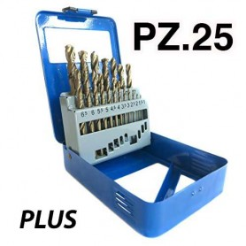 PUNTE PLUS METAL BOX 25 PEZZI 1-13