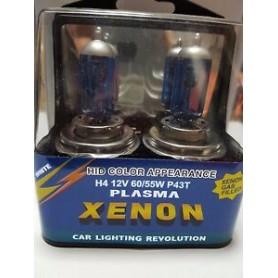 LAMPADA H4 12V XENON BLU SUPERWHITE