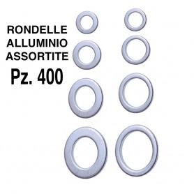 RONDELLE ALLUMINIO ASSORTITE PZ.400