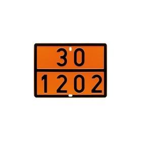 PANNELLO IMBOSSATO SEGNALAZIONE ADR 30-1202 INOX