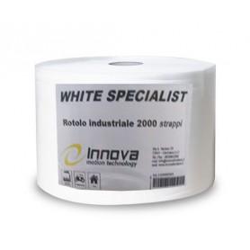 CARTA IN ROTOLO WHITE SPECIALIST 2000 STRAPPI