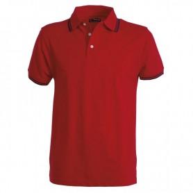 POLO SKIPP TG.XL BLU NAVY-RED