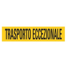 PANNELLO TRASPORTO ECCEZIONALE ITA ALLUMINIO