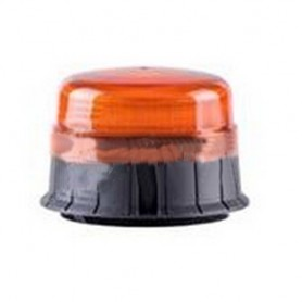 SEGNALE LUMINOSO LED ARANCIO 12/24V BASE PIANA