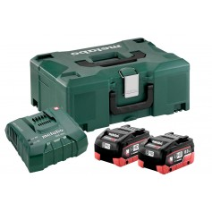 SET METABO 2 BATTERIE 8.0AH LIHD CON ASC ULTRA