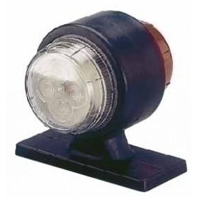 SEGNALATORE INGOMBRO CORTO TONDO 24V B/R LED