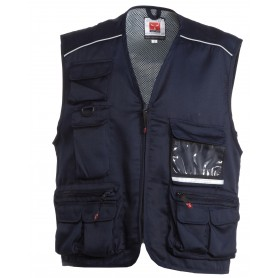 GILET POCKET TWILL