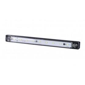 SEGNALE INGOMBRO 9 LED 12/24V BIANCO