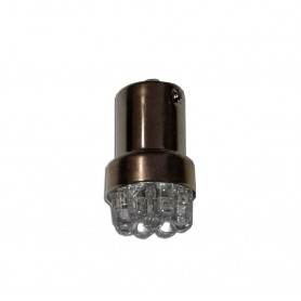 LAMPADA LED BIANCA 12V  ATTACCO BA15S