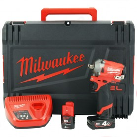 AVVITATORE IMPULSI MILWAUKEE 1/2 12V 339NM