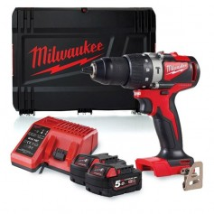 TRAPANO CON PERCUSSIONE MILWAUKEE BRUSHLESS18V